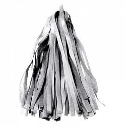 Тассел гирлянда серебро бумажное