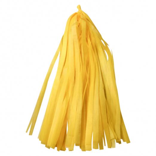 Тассел гирлянда желтая
