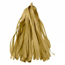 Тассел гирлянда золото бумажное
