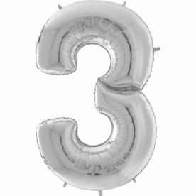 """Цифра гигант """"3"""", 163 см"""