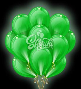 """Светящиеся шары Облако """"Зеленые"""""""