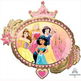 """Фигура фольга """"Принцессы Диснея"""", с 2-х сторон разные"""