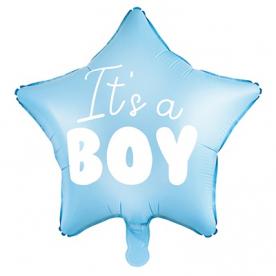 """Шар звезда """"IT'S A BOY"""""""